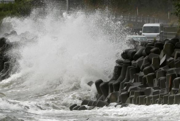海神台风袭击日本后威胁韩国